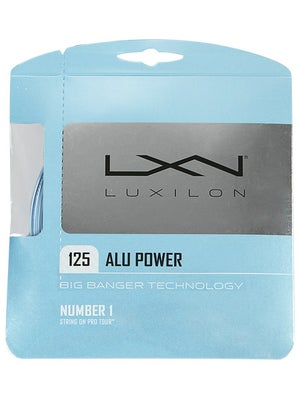 Luxilon ALU Power 16L String Ice Blue