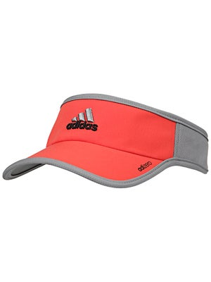 adidas Mens adizero II Visor Orange/Grey