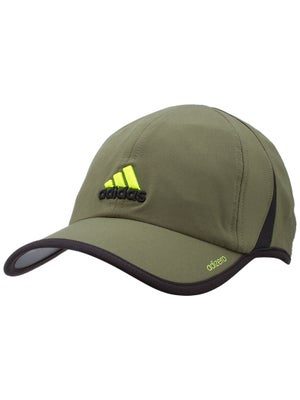 adidas Mens Spring adizero II Hat Earth Green