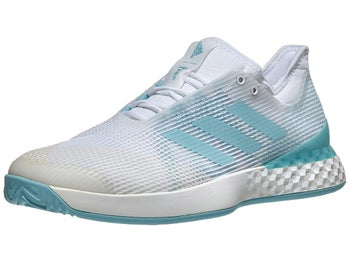 separation shoes 905e1 bcfcd Product image of adidas adizero Ubersonic 3 Parley WhiteBlue Mens Shoe