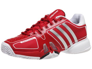 adidas Barricade 7 Novak Red/White Men's Shoe