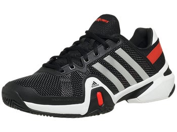 adidas Barricade 8 Black/Silver/Red Men's Shoe