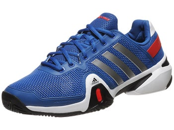 adidas Barricade 8 Blue/Silver/Red Men's Shoe