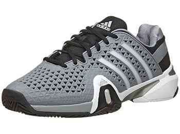 adidas Barricade 8+ Grey/Silver Men's Shoe