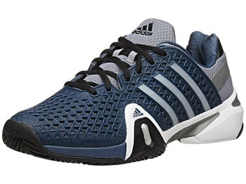 adidas Barricade 8+ Navy/Silver Men's Shoe