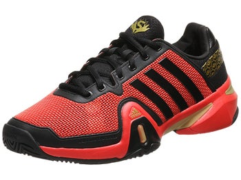 adidas Barricade 8 Shanghai Red/Black/Gold Men's Shoe