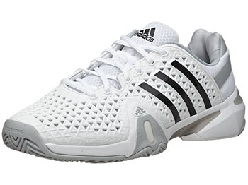adidas Barricade 8+ White/Black Men's Shoe