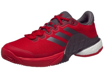 013077329a69 Product image of adidas Barricade 17 BOOST Red Grey Burgundy Men s Shoe
