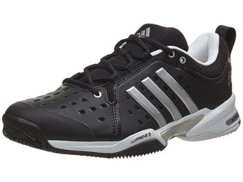sports shoes f3d1a f034e Product image of adidas Barricade Classic Wide (4E) BkSlWh Mens