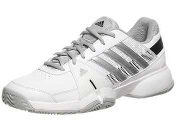 adidas Barricade Team 3 White/Silver Men's Shoe