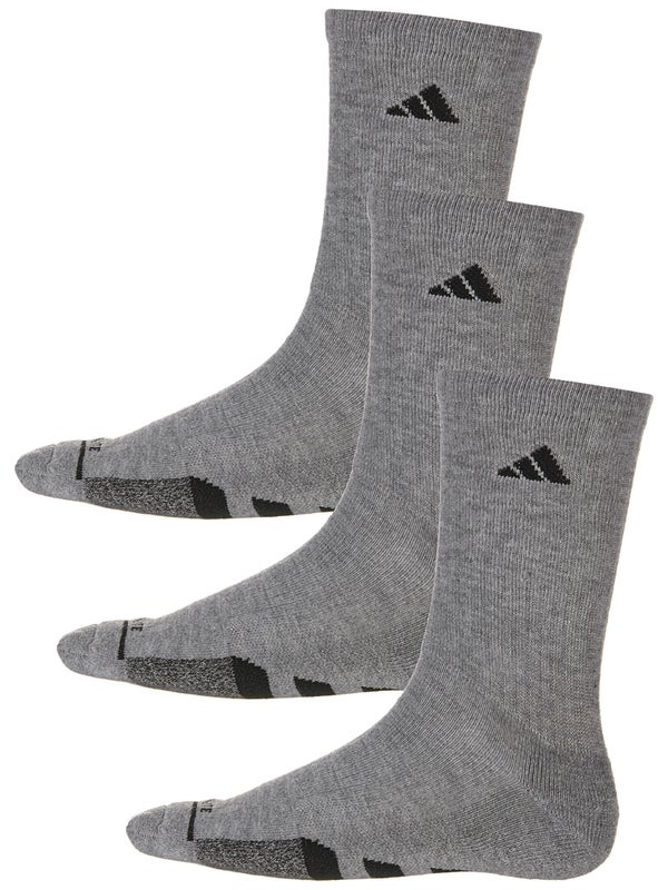 antena Arrepentimiento camioneta  adidas Men's Cushioned II 3-Pack Crew Socks Grey