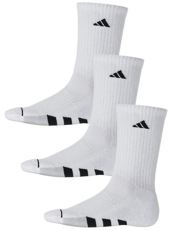 El otro día secuestrar volverse loco  adidas Men's Cushioned II 3-Pack Crew Socks White