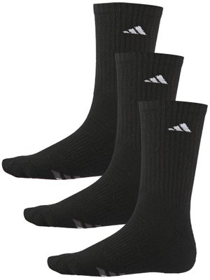 d482070f1e606 Product image of adidas Men's Cushion 3-Pack Crew Sock Black/White