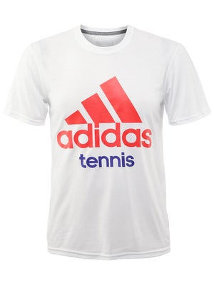 adidas Men's Fall Tennis Logo T-Shirt