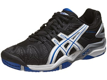 Asics Gel Resolution 5 Bk/Wh/Blue Men's Shoes