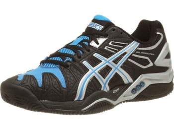 Asics Gel Resolution 5 Clay Black/Blue Men's Shoes