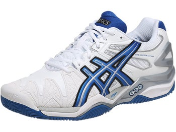 Asics Gel Resolution 5 Clay White/Blue Men's Shoes