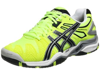 Asics Gel Resolution 5 Yellow/Black Men's Shoes