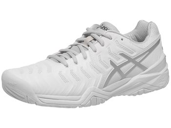 c70f9119c69e Product image of Asics Gel Resolution 7 White Silver Men s Shoes
