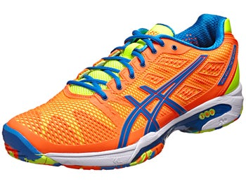 Asics Gel Solution Speed 2 Orange/Blue Men's Shoes