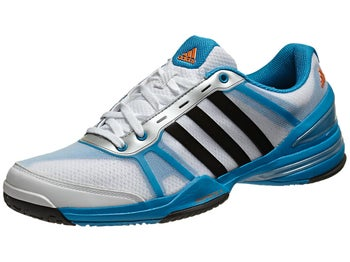 adidas Response CC Rally Comp Wh/Bk/Blue Men's Shoe