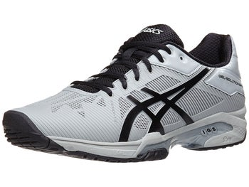 37a21d3e7edf4 Product image of Asics Gel Solution Speed 3 Grey Black Men's Shoes