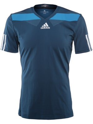 adidas Men's Spring barricade Semi Fitted Crew