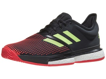 8a3e1d7a12e544 Product image of adidas SoleCourt Boost Bk Red Green Men s Shoes