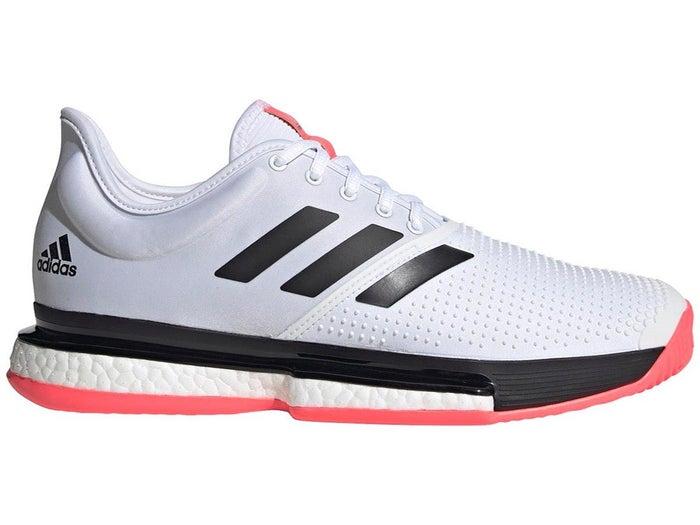 entrevista agricultores Confiar  adidas SoleCourt Boost White/Black/Pink Men's Shoe