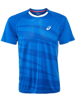 Asics Men's Spring Graphic Chest Crew