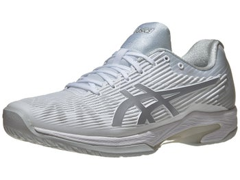 5a1840885b3 Asics Solution Speed FF White/Silver Men's Shoes
