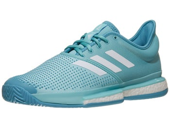 61a0447d58feb adidas SoleCourt Boost Parley Blue Men s Shoe