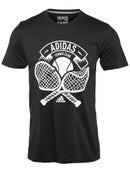 adidas Mens Tennis Crest T-Shirt