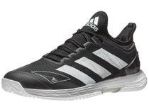 adidas adizero Ubersonic 4 Black/Wh/Silver Men's Shoe