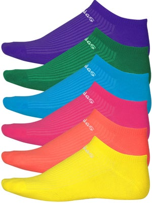 adidas Women Superlite Color No Show Socks 6-Pack