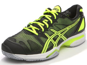 Asics Gel Solution Speed Clay Bk/Yl Men's Shoes