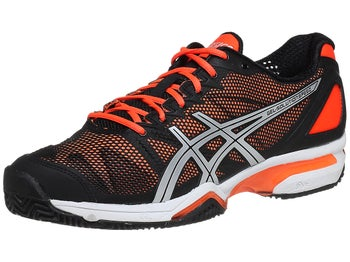 Asics Gel Solution Speed Clay Bk/Or Men's Shoes