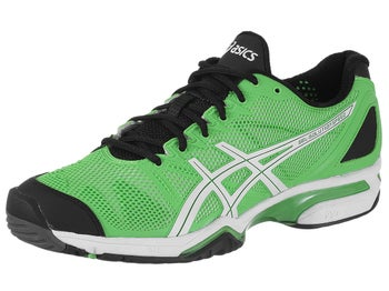 Asics Gel Solution Speed Green/Black Men's Shoes