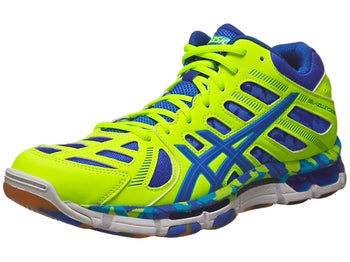 ASICS Gel-Volleycross Revolution Mid Shoe Flash/Royal