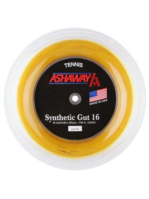 Ashaway Synthetic Gut 16 String 720' Reels