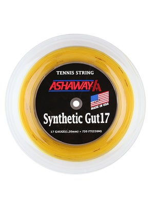 Ashaway Synthetic Gut 17 String 720' Reels