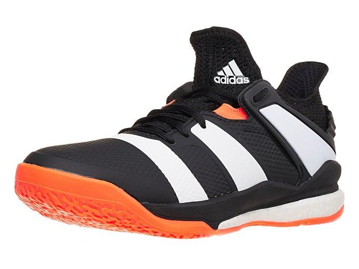 Inaccesible ensayo Resplandor  adidas Stabil X Boost Men's Shoes - Black/White/Orange