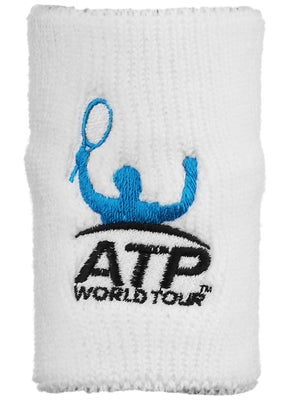 ATP Wristband White (single)