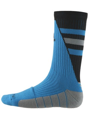 adidas Team Speed Crew Socks Solar Blue/Black