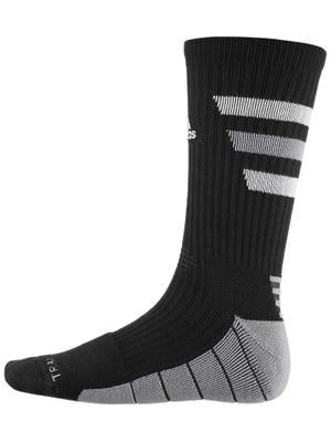 adidas Team Speed Traxion Crew Sock Black/White