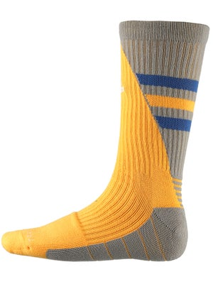 adidas Team Speed Traxion Crew Sock Gold/Blue/Gy