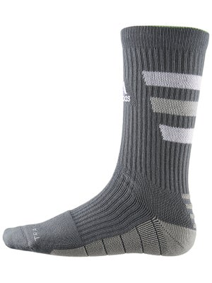 adidas Team Speed Traxion Crew Sock Graphite/White