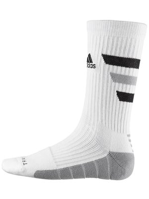 adidas Team Speed Traxion Crew Sock White/Black