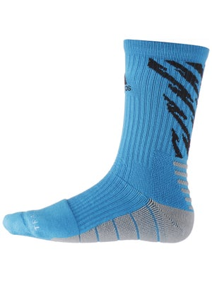 adidas Speed Traxion Shockwave Crew Socks Blue/Black