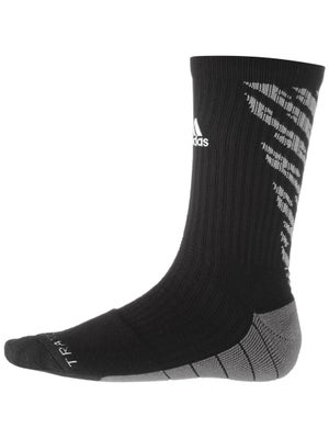 adidas Speed Traxion Shockwave Crew Socks Black/Grey